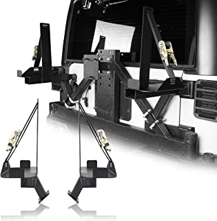 u-Box Jeep Wrangler JK Spare Tire Jerry Can Mount Fit 5.3 Gallon (Jeep Wrangler JK 07-18)