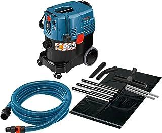 Bosch Professional GAS 35 M AFC - Aspirador seco/h?medo (1380?W, capacidad 35 l, clase polvo M, 254 mbar, manguera antiest?tica)