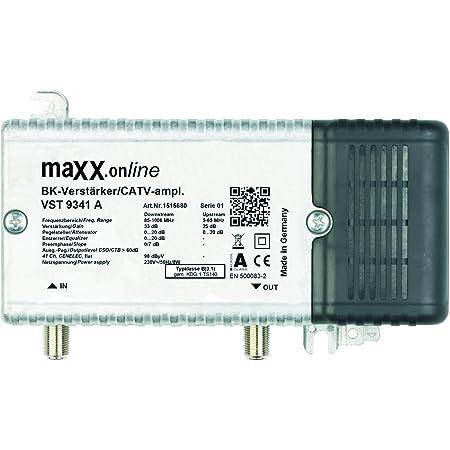 Wisi Vx 82 0s Hausanschluss Verstärker 1 Ghz Silber Küche Haushalt