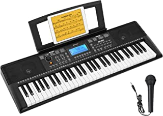 Donner DEK-610 Keyboard Piano Beginners 61 Key Electronic Ke