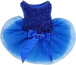Kirei Sui Royal Blue Rosettes Pets Tutu Party Dress