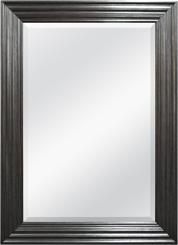MCS 47702 Finally popular brand Ridged Mirror Luxury 44-Inch by 32
