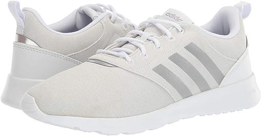 White/Matte Silver/Grey