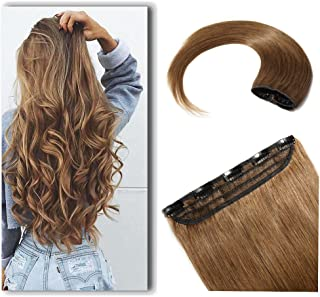 100% Real Hair Extensions Clip in Remy Human Hair 18