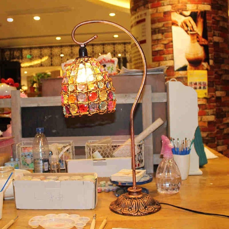 Continental Continental Continental Eisen Café Palast Teebar kreative Ehe Zimmer Tischlampe Schlafzimmer B01FQN6WDO     | Neue Sorten werden eingeführt  f9d252