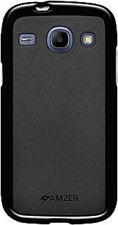 Amzer Pudding Soft Gel TPU Skin Fit Case Cover for Samsung GALAXY Core I8260, Samsung GALAXY Core I8262 - Retail Packaging - Black