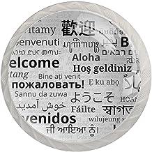 Lade handgrepen trekken ronde kristallen glazen kast knoppen keuken kast handvat,Welkom in verschillende taal