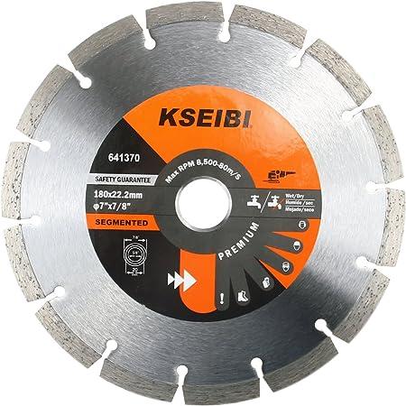 "Premium 4.5/"" Diamond Saw Blade Turbo Cutting With 7//8 or 5//8 Inch Arbor Tile Saw"