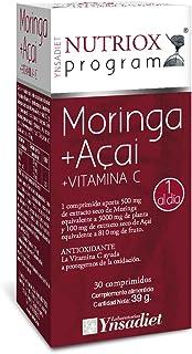 Nutriox Moringa. Açai y Vitamina C Antioxidante - 30 Unidades