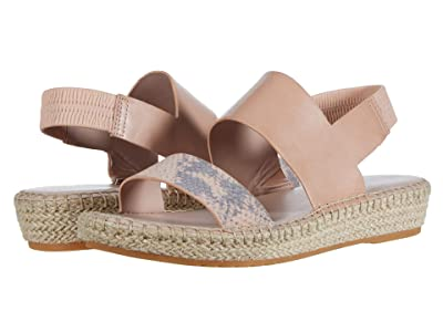 Cole Haan Cloudfeel Espadrille Sandal (Mahogany Rose Chalk Python Print Leather/Mahogany Rose) Women