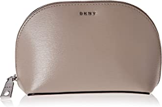 DKNY SLG Bryant Cosmetic Bag Warm Grey, Pack of 1