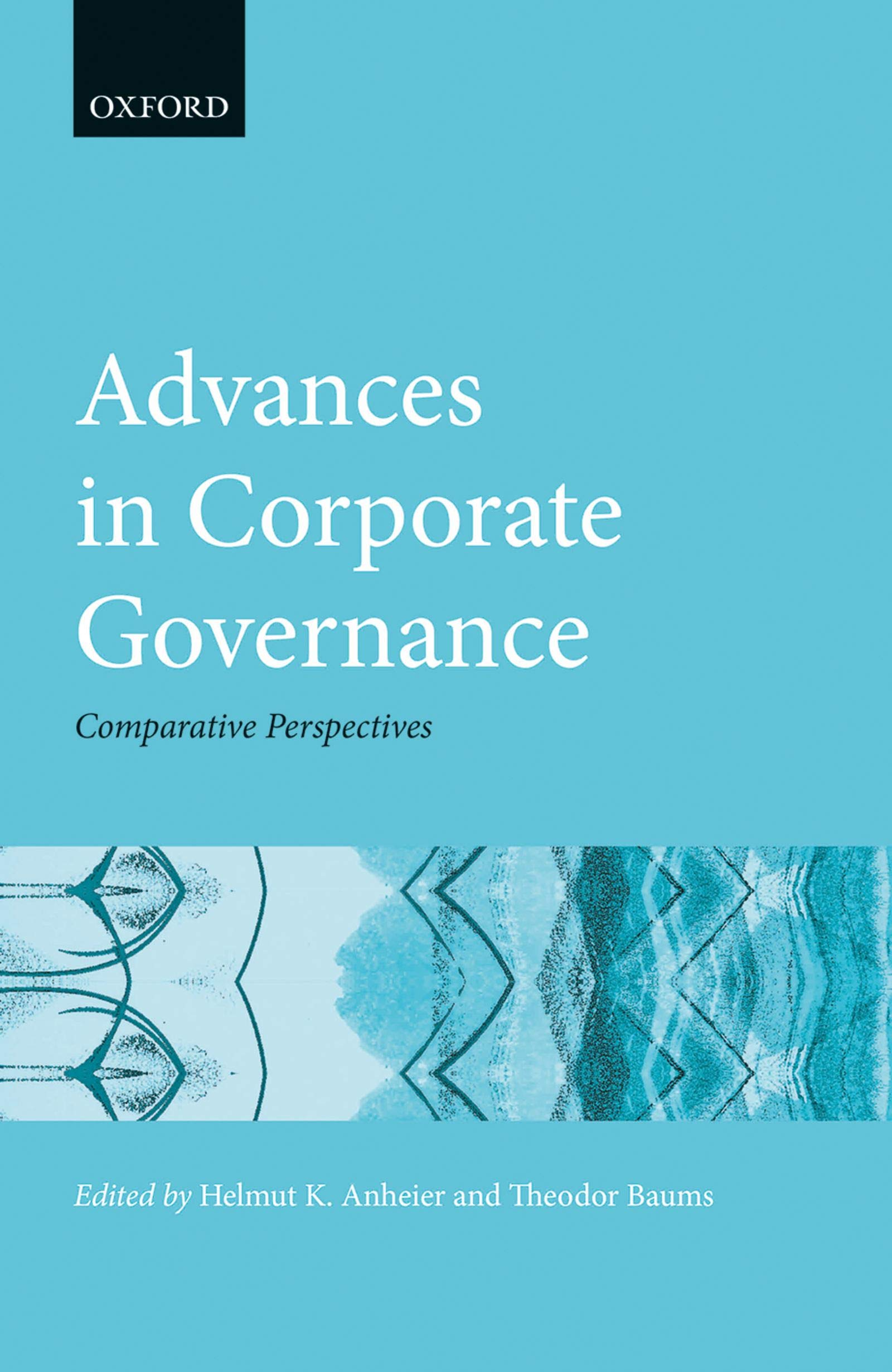 Advances in Corporate Governance: Comparative Perspectives (Hertie Governance Report)