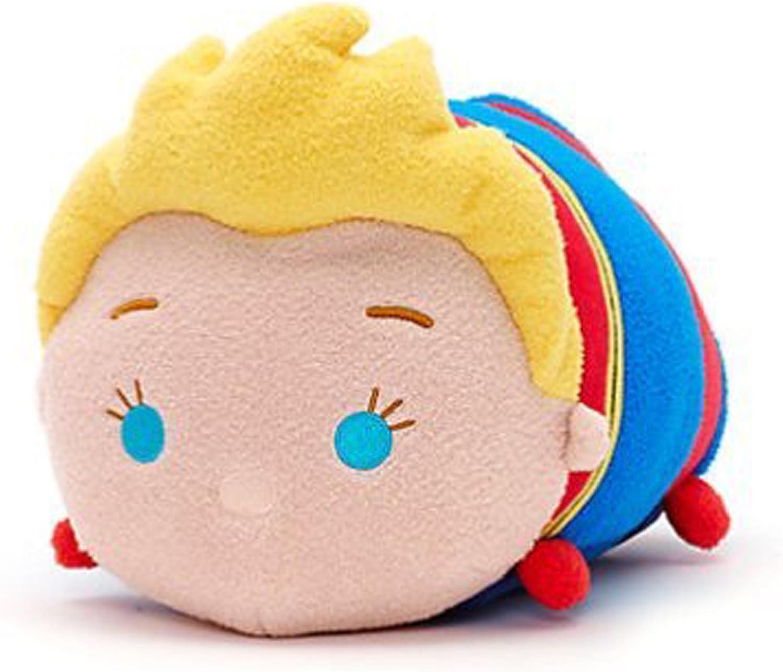 Disney Store Mini 3.5  Tsum Tsum Captain Marvel Plush Toy