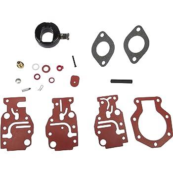 balikha 1 Aluminum Carburetor Restoration Kit For Johnson Evinrude 8HP