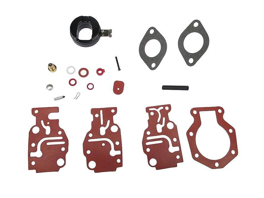 Carburetor Rebuild Carb Repair Kit for Johnson/Evinrude 6 8 9.9 15 20 HP 0431897