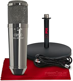 CAD Audio GXL3000BP Condenser Microphone with XLR Cable Basic Microphone Accessory Bundle