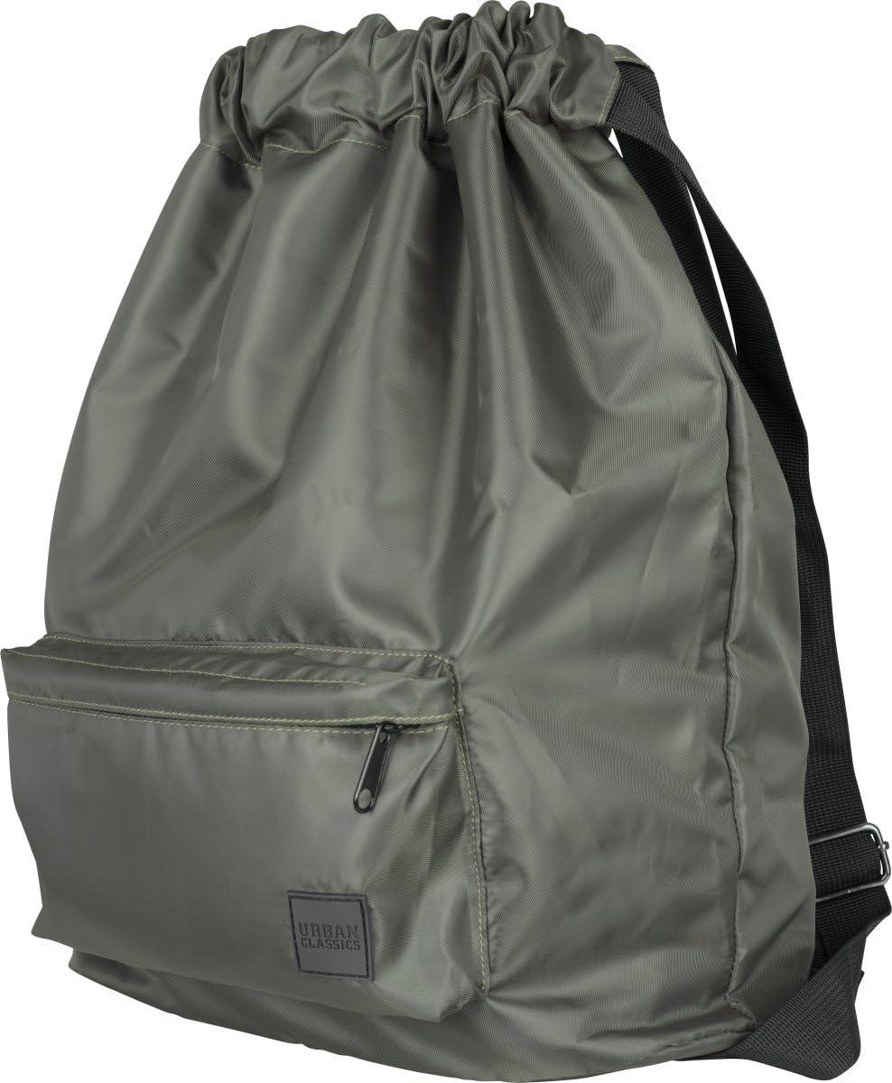 Darkolive 43 cm Urban Classics Pocket Gym Bag Turnbeutel