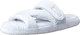 DAWGS Womens Women's Fluffy Z Slippers Women's Fluffy Z Slippers Blue Size: 9-10 M US
