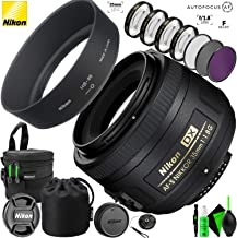 Nikon AF-S DX NIKKOR 35mm f/1.8G Lens and Pro Cleaning Accessories photo