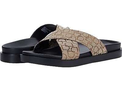 Stacy Adams Montel Cross Strap Slide Sandal