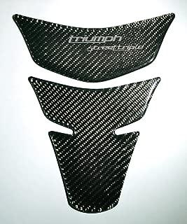 RZ Moto Carbon Fiber Motorcycle Tank Protector Pad for Triumph Street Triple