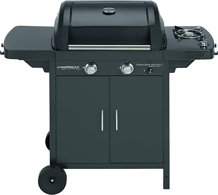 Barbecue a gas serie 2 classic exs vario a 2 fuochi, potenza 7,5 kw campingaz 2 series d 3000006591