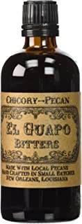 El Guapo Chicory-Pecan Bitters - coffee & nut flavors with aromatic spices 100mL/3.4 fl. oz