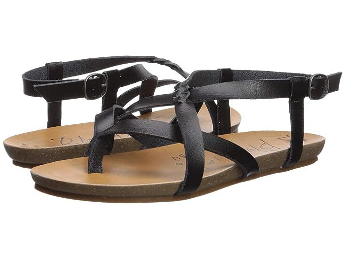 Blowfish  Granola-B (Black Dyecut) Womens Sandals