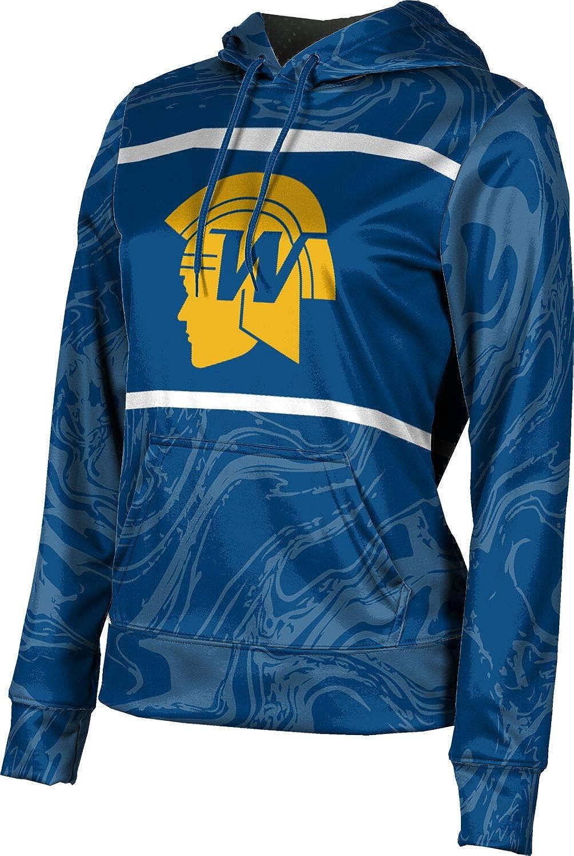 ProSphere Wayzata High School Girls' Pullover Hoodie, School Spirit Sweatshirt (Ripple)