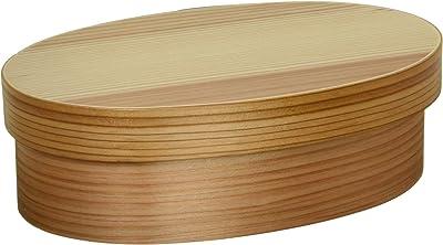 スリム型 曲げわっぱ弁当箱 食洗機対応 ナチュラル S16-7-13s