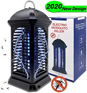 Dekugaa Bug Zapper-Powerful Insect Killer,Electronic Insect Killer,Mosquito lamp,Fly Insect Trap Indoor Hangable Electronic UV Lamp for Home,Indoor