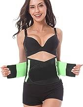 ADA Waist Stomach Belt Shaper Fitness Belt Yoga Wrap Hot Belt Unisex Weight Loss Back Pain Gym Running Travel Tummy Workout Belt