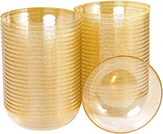 gold disposable bowls