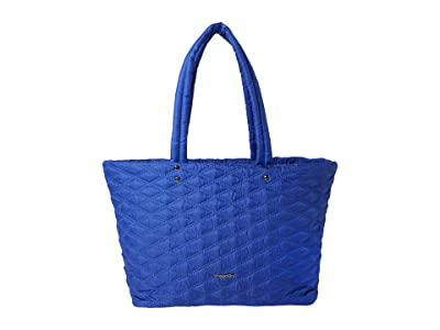 Baggallini Quilted Tote (Cobalt/Blue) Handbags