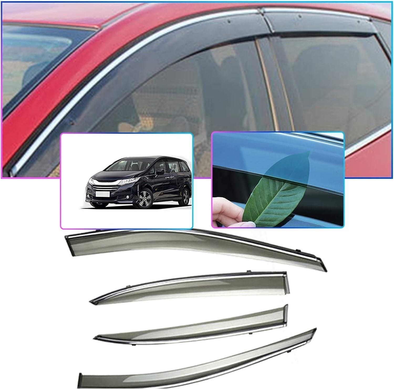 Max Max 51% OFF 40% OFF QUXING Window Wind Deflectors 4PCS Sun Styling Car Smoke