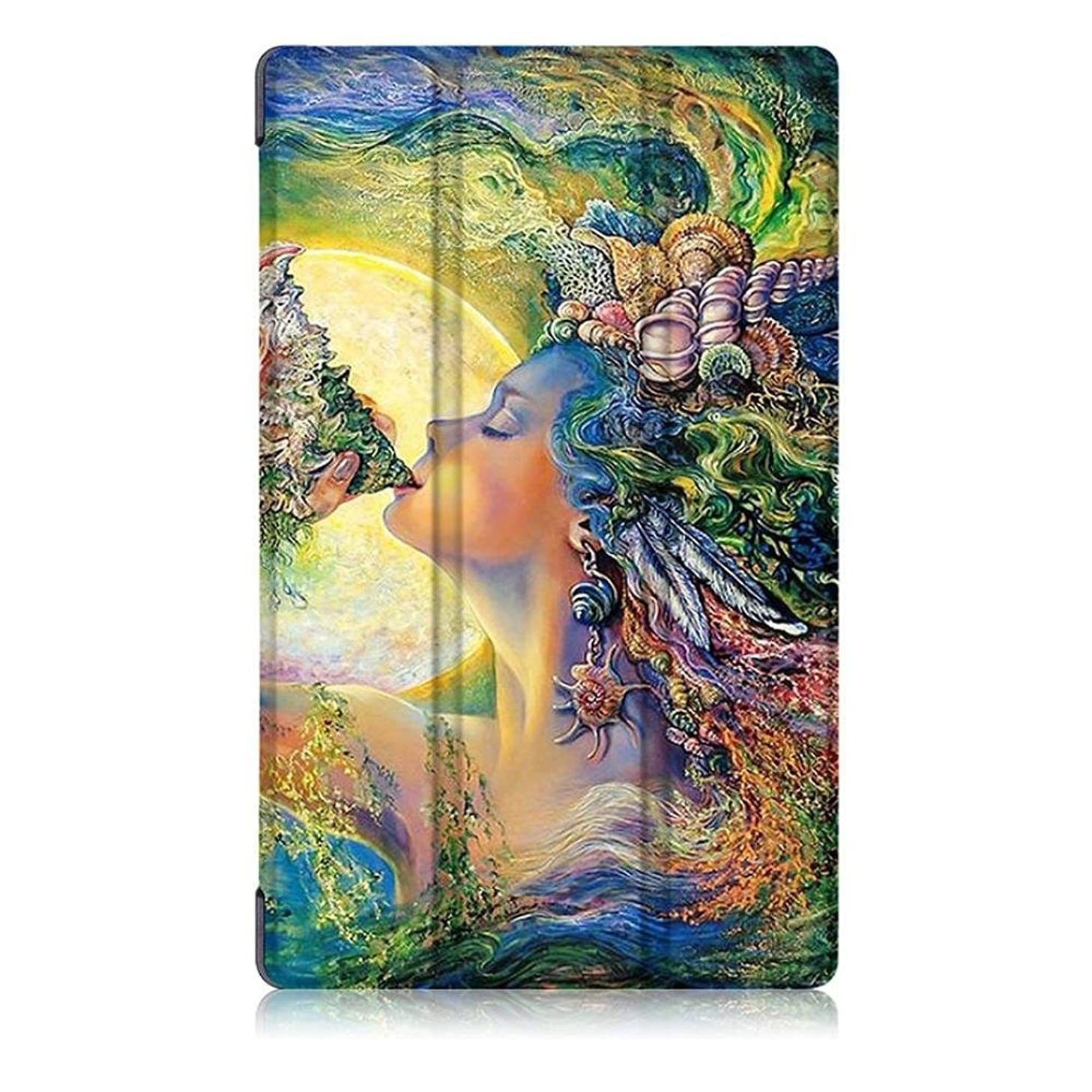 Amazon Kindle Fire HD 8 Inch Tablet Cover,FTXJ Fashion Stylish Pattern PU Leather Case,Multicolor