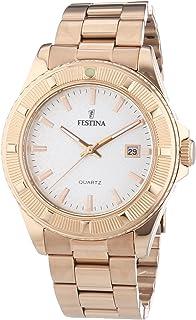 Festina - F16788/1 - Montre Femme - Quartz Analogique - Bracelet Acier Inoxydable Or et Rose