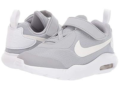 Nike Kids Air Max Oketo (TDV) (Infant/Toddler) (Wolf Grey/White) Boys Shoes