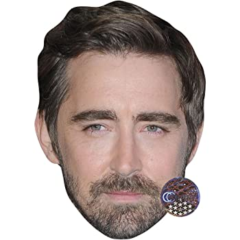 Lee Mack Celebrity Mask Card Face and Fancy Dress Mask