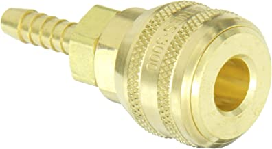 Eaton Hansen 3600 Brass ISO-B Interchange Pin Lock Pneumatic Fitting, Socket, 1/4