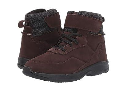Jack Wolfskin Kids City Bug Texapore Mid (Toddler/Little Kid/Big Kid) (Dark Brown/Black) Boys Shoes