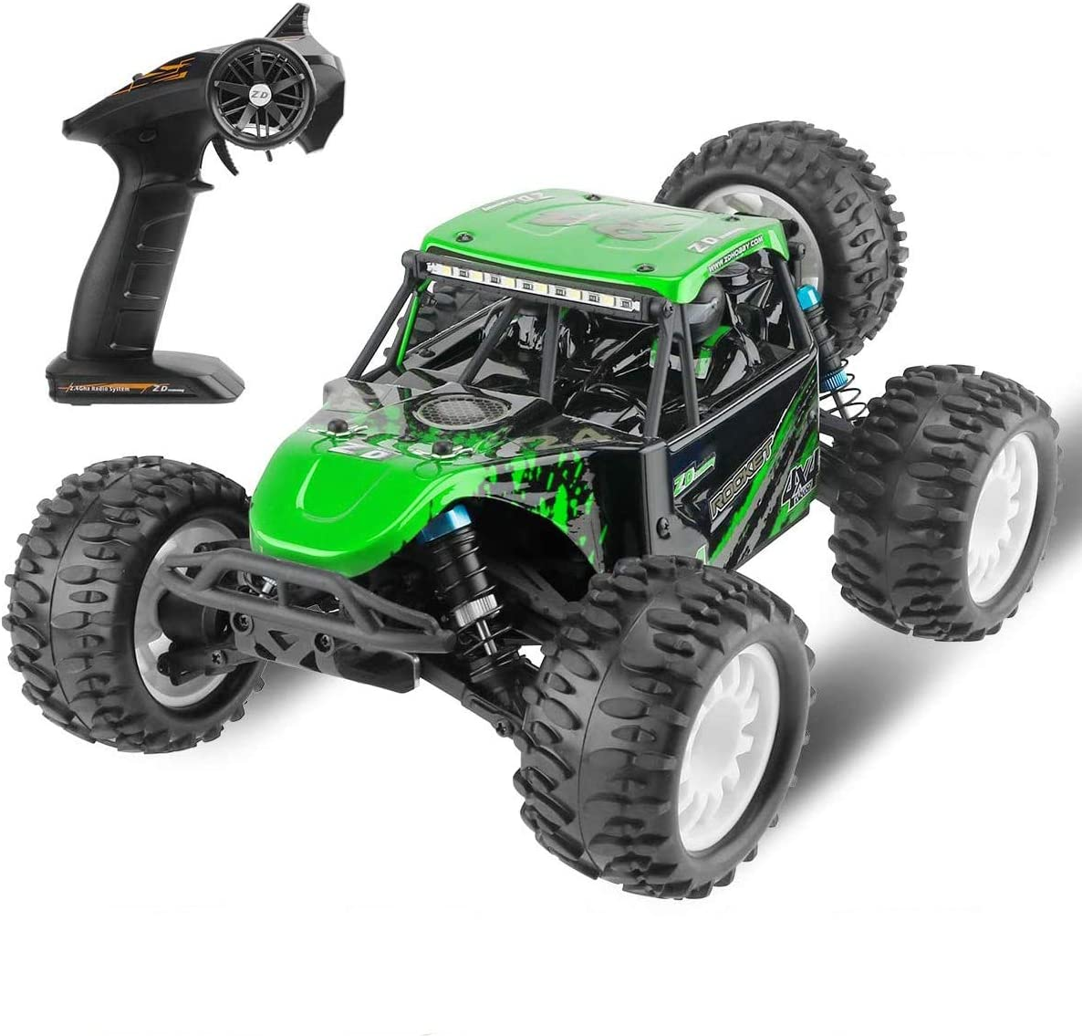 1:16 Scale RC Car 4WD Off 2.4GHz Radio Contr discount Road Bombing free shipping Vehicle Remote