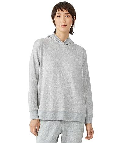 Eileen Fisher Hooded Sweatshirt in Tencel Organic Cotton Fleece