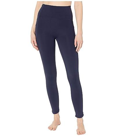 manduka Presence 7/8 Pocket Legging (Dark Sapphire) Women