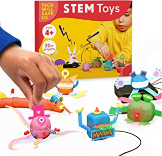 Tech Will Save Us Kit Fantaisie Plasticine Electro | Jouet éducatif de Technologie Scientifique électronique STEM, Cadeau ...