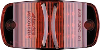 """Maxxima M23015R 14 LED Red 4"""" Combination Clearance Marker Light"""