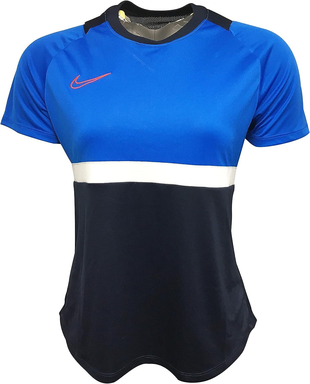 latest Nike Women's Jersey 100% Polyester Pro BV6940 Top Academy Soccer half