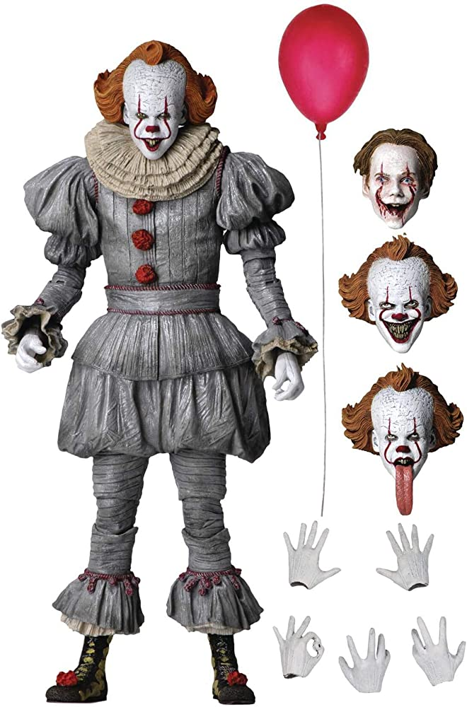 Neca, it chapter 2 2019 pennywise ultimate , 7 x 16,4 x 23,8 cm NECA45454