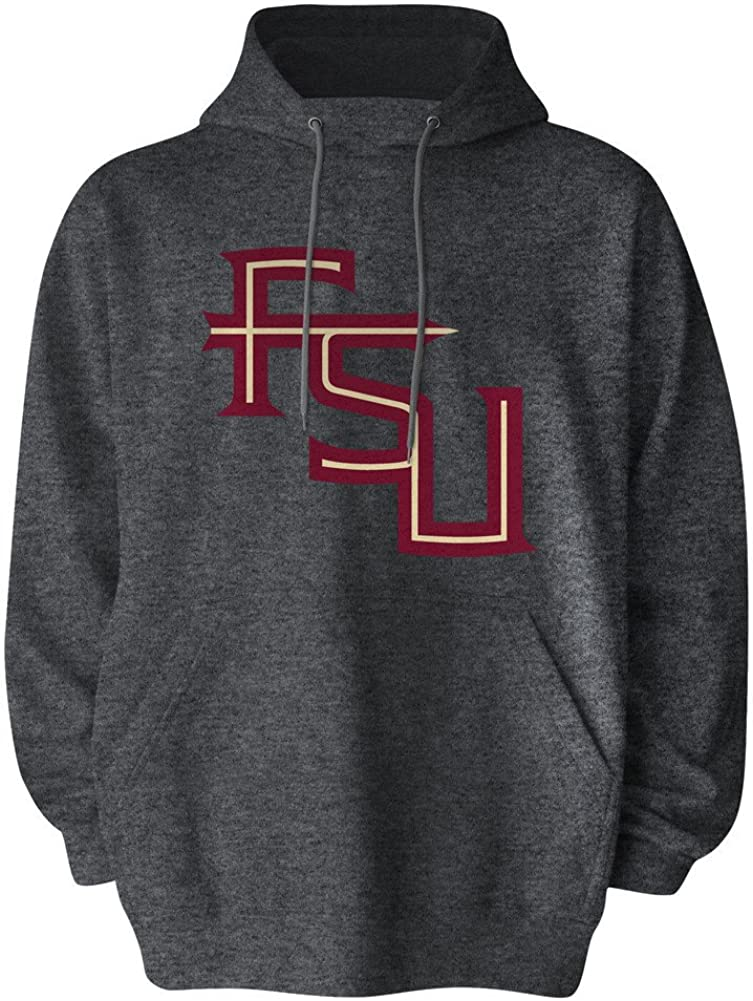 Elite Fan Shop Fan Favorite Dark Heather Icon Hoodie Sweatshirt