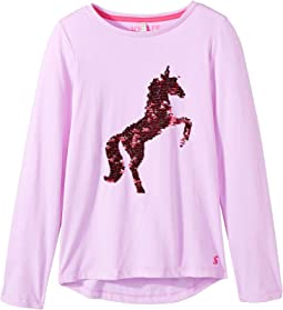 Sequin Embroidery Jersey Top (Toddler/Little Kids/Big Kids)
